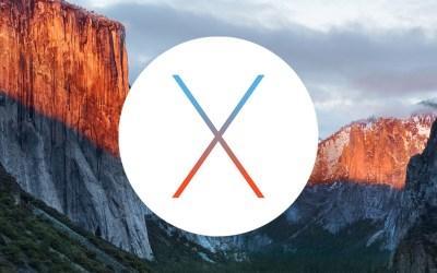 Ya está aquí OS X El Capitan