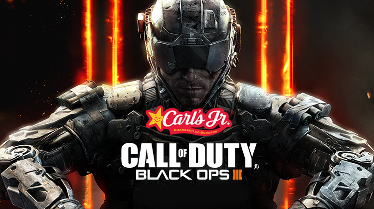Carl's Jr lanza un nuevo combo inspirado en Call of Duty: Black Ops 3