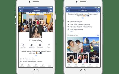 Facebook podría permitir vídeos como foto de perfil