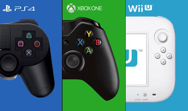 Comparación de juegos 2015: PS4   Xbox One   Wii U