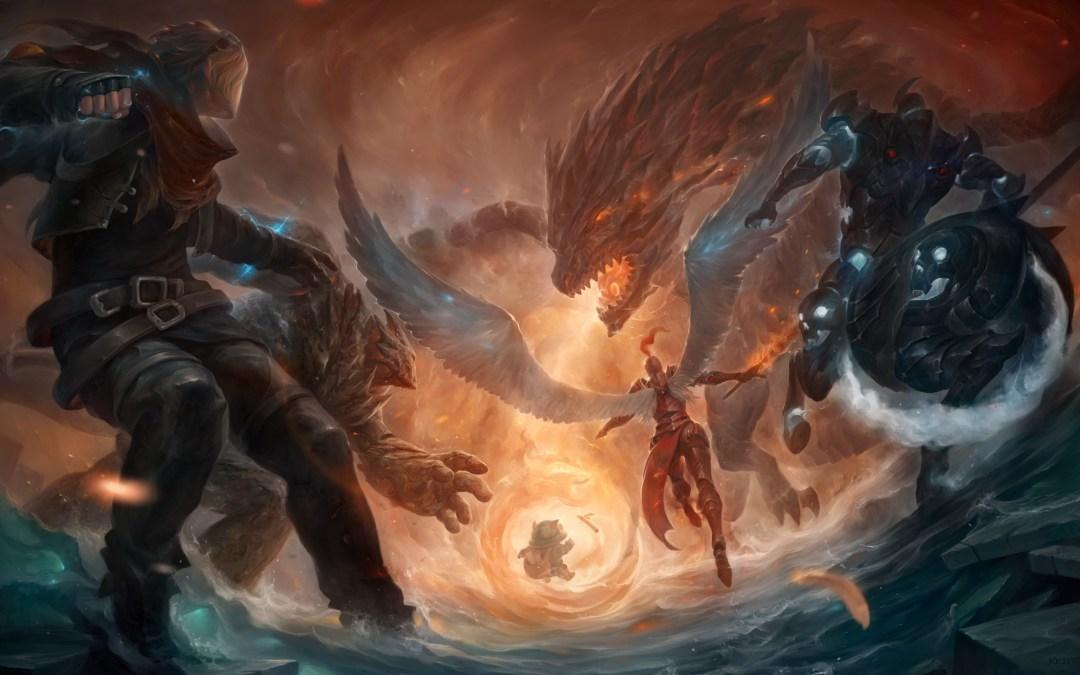 Anuncian nuevo Campeón para League of Legends y se despiden de Ao Shin