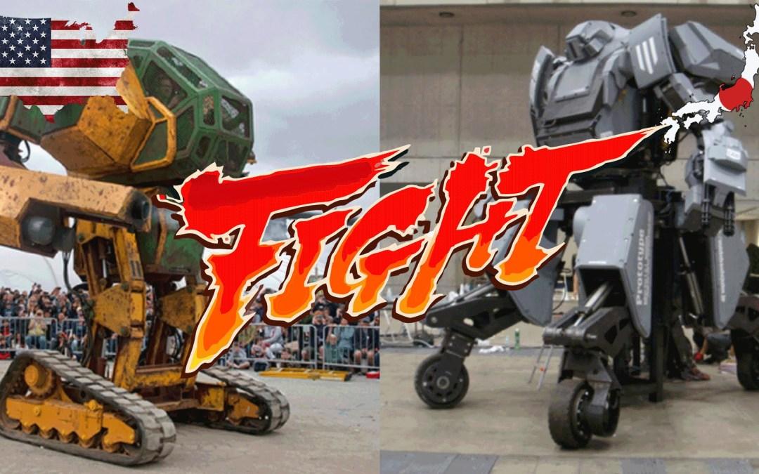 Duelo de Robots Gigantes – USA VS Japón