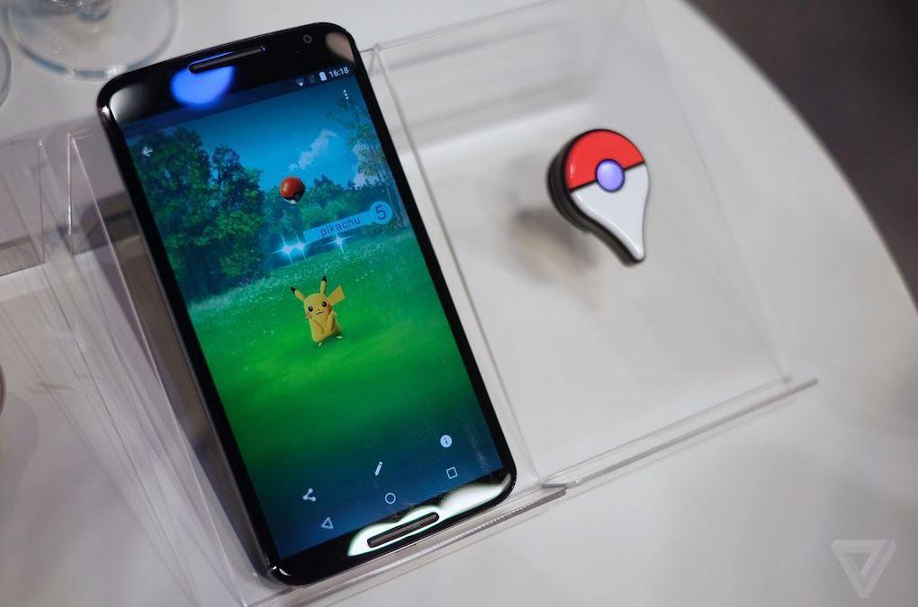 ¿Primeras imágenes de Pokémon GO?
