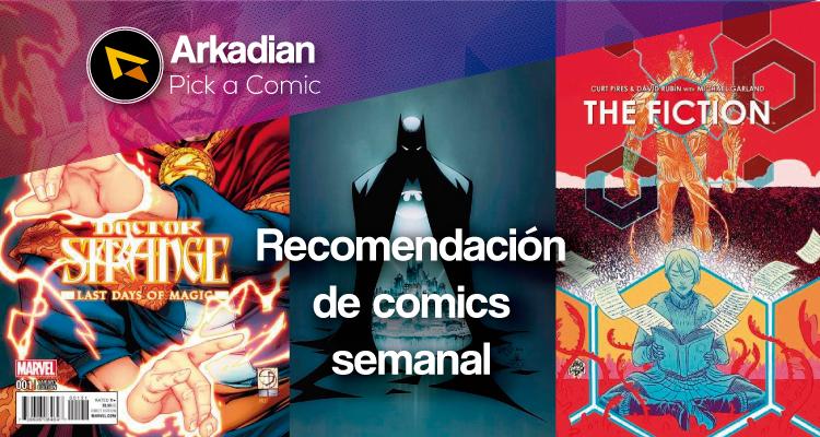 Pick a Comic – Recomendaciones de cómics del 27 de Abril