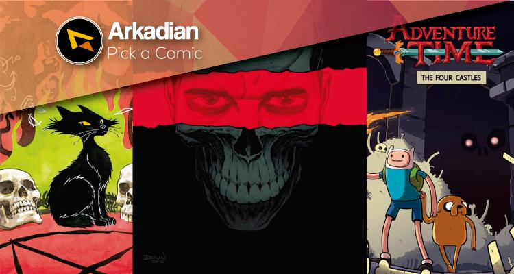 Pick a Comic – Cómics recomendados del 4 de Mayo