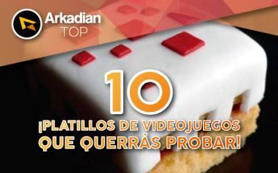 Top |10 Platillos de videojuegos que querrás probar