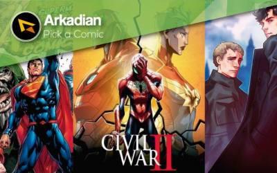 Pick a Comic – Cómics recomendados del 08 de Junio