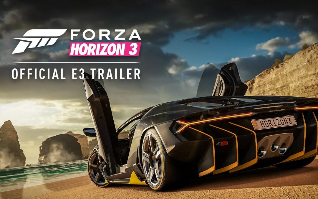 E3 2016 | Trailer y fecha de lanzamiento de Forza Horizon 3