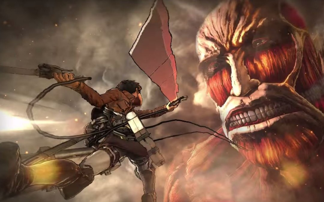 E3 2016 | Nuevo trailer y gameplay de Attack on Titan