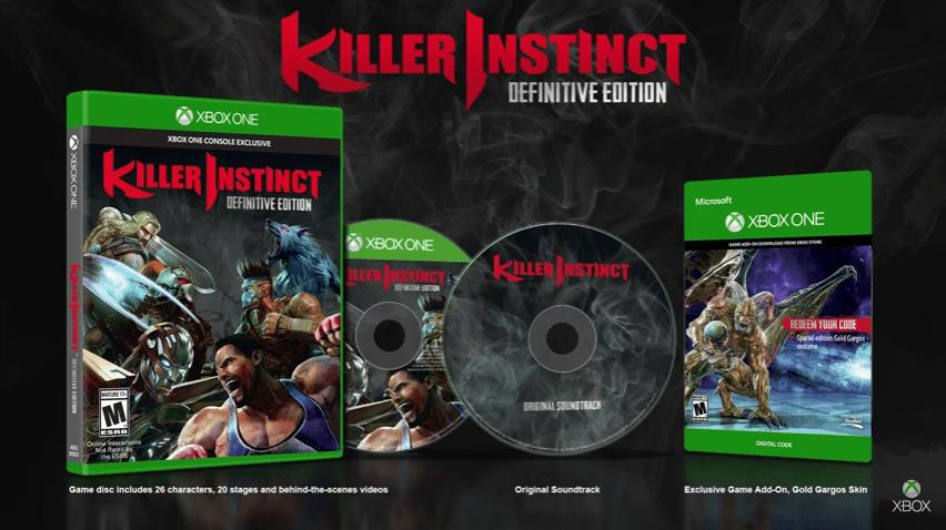 Anuncian Killer Instinct: Definitive Edition