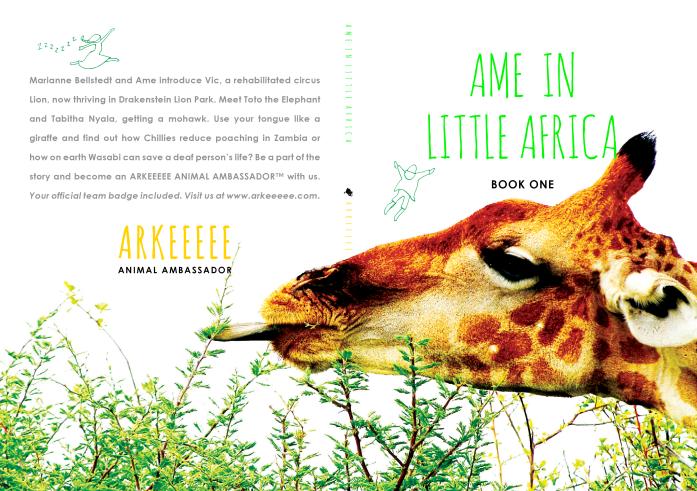 Ame in Little Africa Cover Spread