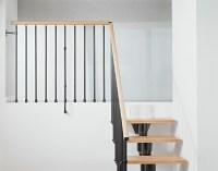 Kompact Adjustable Staircase Kit - Metal, Steel and Wood ...