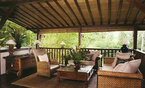 Dise os de terrazas y porches arkiplus for Porche diseno