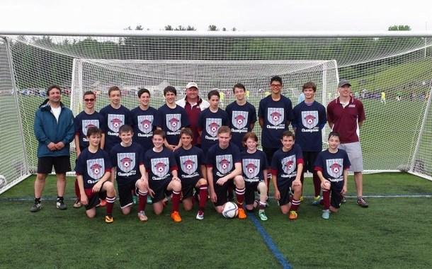 Arlington BU14 Eagles Win the State Open Cup