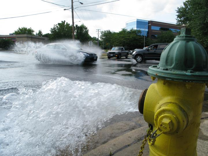 Low Water Pressure After Main Break In Shirlington | Arlnow.Com