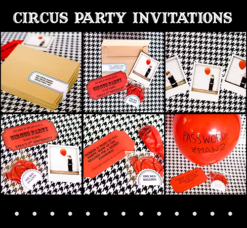 circus party invitations\u2026 Armelle Blog - Circus Party Invitation