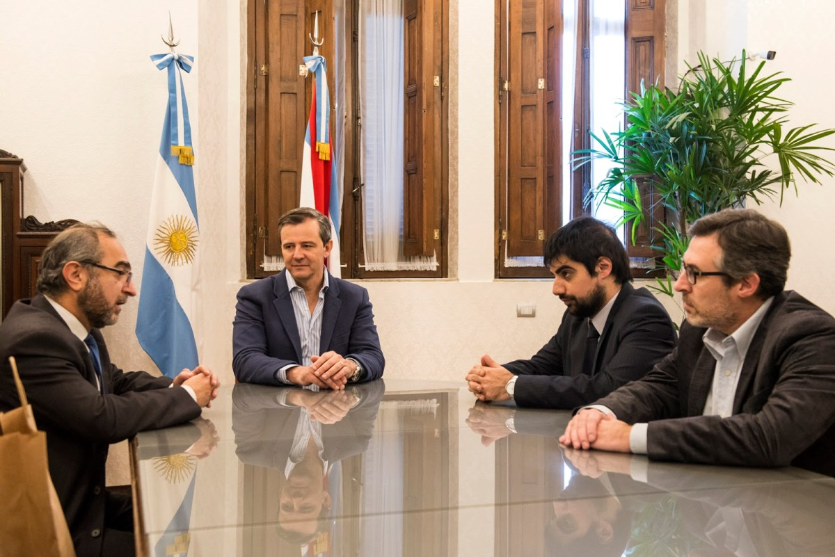 (L-R) Jorge Dolmadjian, Adan Humberto Bahl, Nicolas Sabuncuyan, Lucas Larrarte