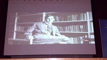 "Scene from ""Acts of Conscience: Armin T. Wegner and the Armenian Genocide"" (Photo: Armenian National Committee of Canada)"