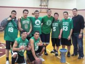 The Greater Boston Nejdeh Chapter mens basketball team at the annual NAT in Worcester.