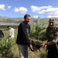ATP provided seasonal jobs for more than 300 people from the Tsaghkaber, Jrashen, and Margahovit villages in 2009 to plant trees grown at the Mirak Family Reforestation Nursery and in the Backyard Nursery Micro-Enterprise Program.
