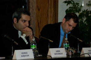 protocols 10 300x199 Panel Discussion on Armenia Turkey Protocols Held at Clark University