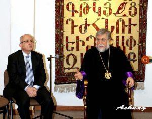 catholicossate 300x234 Hundreds Attend Akcam Lectures in Beirut