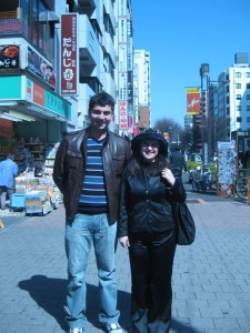 two hayastantsis we met them in ikebukuro sunday 225x300 Armenians in Japan Discuss Earthquake, Aftermath