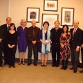 Members of Columbia Armenian Center with Avdoyan (center)