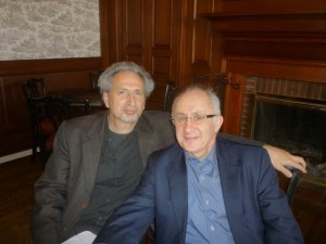Akcam and Balakian at Colgate 300x225 Akcam Launches Latest Book at Colgate University