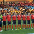 The Armenian soccer team