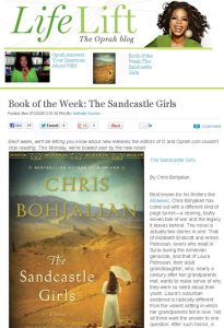 bohjalian oprah 1 205x300 Oprah.com Picks 'Sandcastle Girls' as Book of the Week