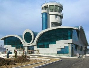 nkr airport 300x228 Baku Renews Threats to Shoot Down NKR Civilian Aircraft