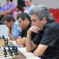 The Armenian team during Round 6 (Photo by Arman Karakhanyan)