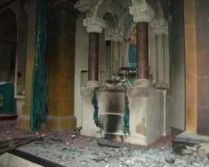 StKevork 300x240 Armenian Church Burned in Aleppo