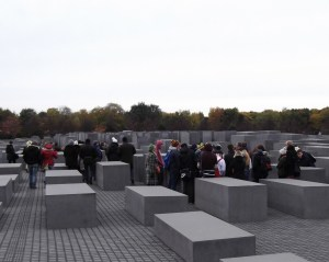German Children on a Student Tour of the Memorial 300x239 Meguerditchian: Lessons from Berlin