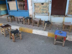 Empty chairs in Mush (Photo by Khatchig Mouradian)