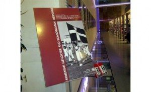 AG exhibition 300x183 From Der Zor to Majdanek: Genocide Trivialized in Scandinavia
