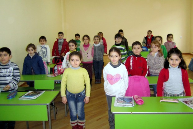 IMG 59951 1024x685 School for Syrian Armenian Kids Forges Ahead in Yerevan