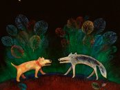 'Dog and Wolf' by Talleen Hacikyan
