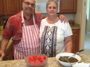 You're all invited to dinner with Robyn and Doug Kalajian inside their Armenian Kitchen online.