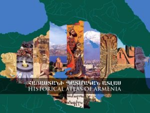 The cover of 'Atlas of Historical Armenia'