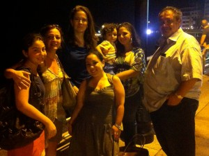 I met the Armenian-Syrian family again while I was in Lebanon and a new family member was with them this time.