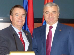 (L-R) Chairman Royce and Speaker Ghoulian