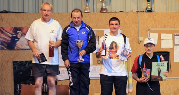 Podium compétiteurs - Tournoi d'été - 24/08/2012