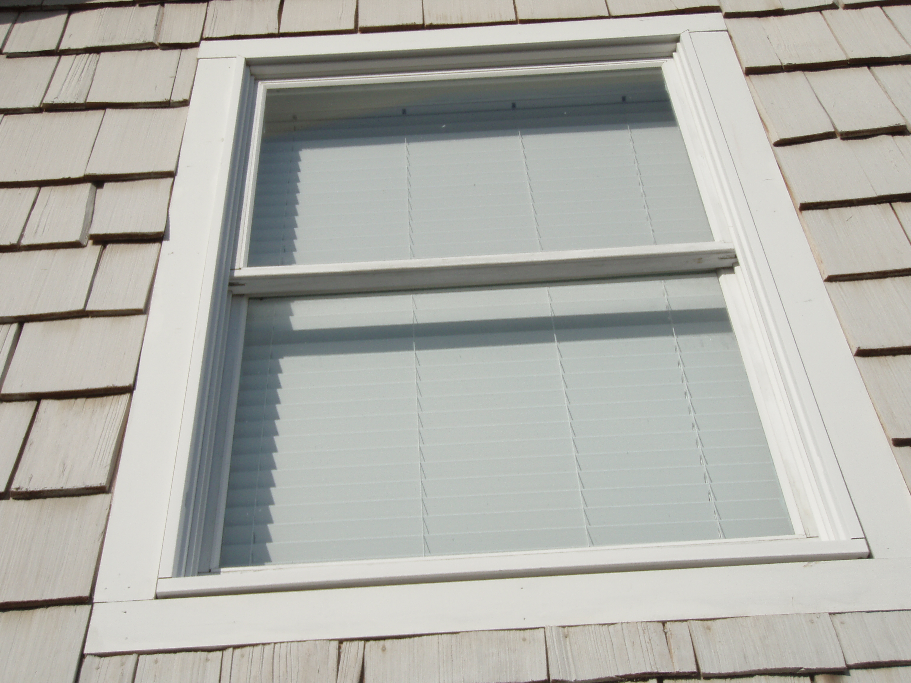 double hung window insulation