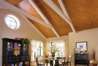 wood plank vaulted ceiling | Integralbook.com
