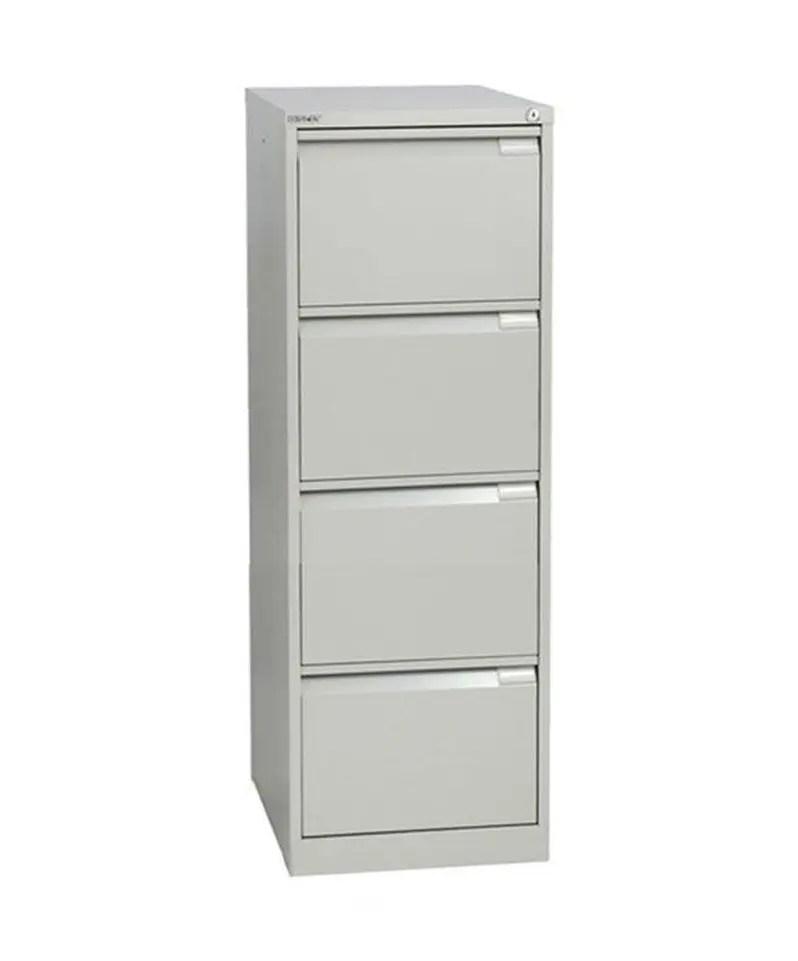 Four drawer Bisley executive filing cabinet