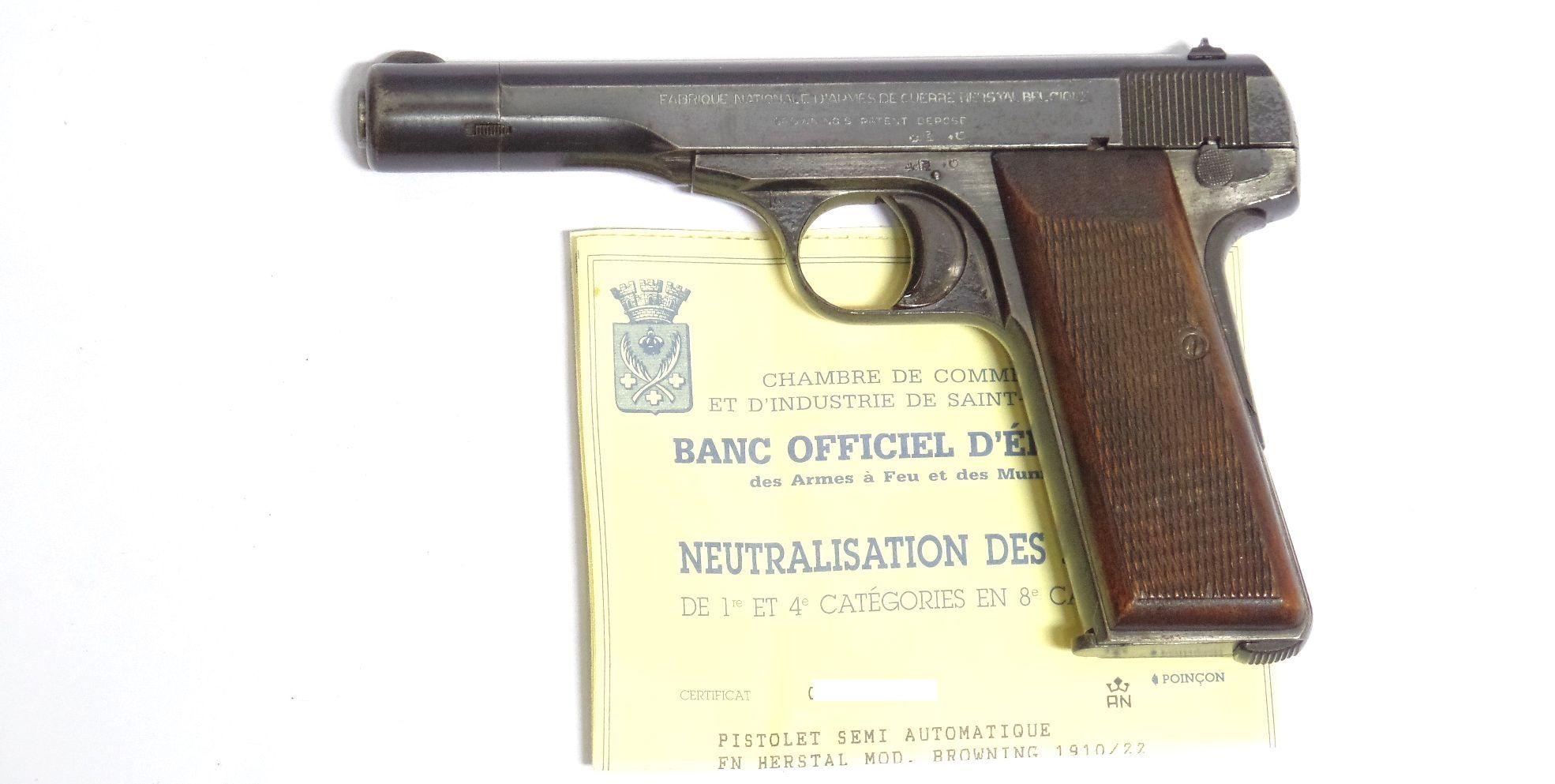 FN 10-22 Neutralisé