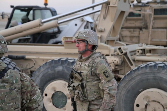 Wranglers support demilitarization operations Article The United
