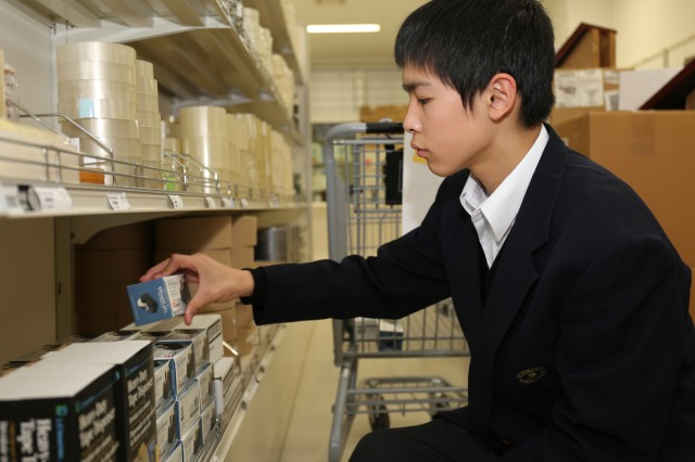 Japanese students participate in job shadow program Article The